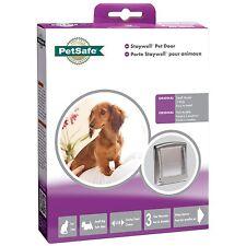 Staywell Original Cat Flap Small Pet Dog Door 2 Way Silver 737