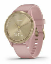Garmin vívomove 3S 39mm Case with Silicone Band GPS Running Watch -Pink