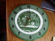Colonial Homestead Royal China Clock.