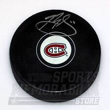 Brendan Gallagher Montreal Canadiens Signed Autographed Canadiens Hockey Puck
