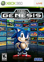 Sonic's Ultimate Genesis Collection (Microsoft Xbox 360) DISC ONLY PLATINUM HITS