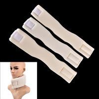 Soft Firm Foam Cervical Collar Neck Brace Support Shoulder Press Pain Relief fh