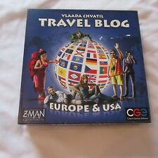 2010 Z-MAN GAMES TRAVEL BLOG EUROPE & USA BOARD GAME