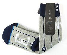 Stance Mens NY New York City Pinstripe Socks Yankees Baseball Size S/M 6-8.5 New