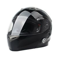 DOT Motorcycle Full Face Bluetooth Intercom Headset Integrated Helmet Helmets