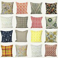 "Luxurious Beautiful 100% Soft Cotton Stylish Printed Cushion Covers 20x20"""