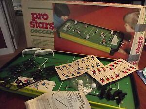 COLECO SOCCER 1980 Pro-Stars table top game vintage RARE & UNUSED! prostars 5130