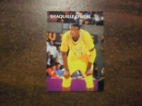 SHAQUILLE O'NEAL 1992 SPORTS STARS ROOKIE CARD  SHAQ ATTACK !