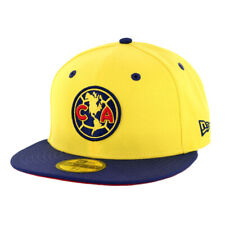 "New Era 5950 Club America ""Official"" Fitted Hat (YL-NV) Men's Aguilas Soccer Cap"