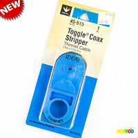 IDEAL Toggle Coax Stripper Thinnet Cable RG-58 (2 Step or 3 Step Strip) 45-515