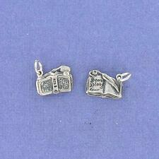 Sterling Silver DEAR DIARY CHARM, NICE