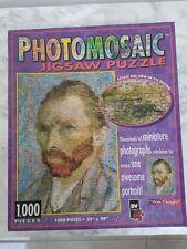 1000 piece jigsaw puzzle - Photomosaic Van Gogh