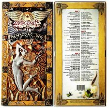 "AEROSMITH *VG+* ""PANDORA''S BOX"" 1991 US COLUMBIA  LONG-BOX  W/BOOKLET 3-CD"
