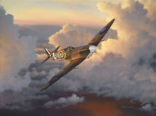 """""""A Time of Eagles"""" William S Phillips 'Eagle Squadron' Anniversary Giclee Canvas"""