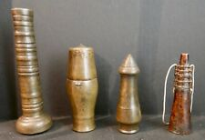 Collection of Antique Betel Nut Accoutrements, Brass, Laos, 18th-19th c