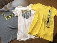 Columbus Crew SC Women's Shirts. All 3 As A Set