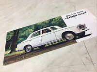 Peugeot 403 sept berline luxe confort 1966 catalogue prospectus brochure