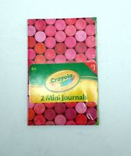 Lot of 36 Packs - Crayola Mini Journals with Lined Paper by Hallmark