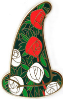 Disney Pin 96037 WDI Sorcerer Hats Mystery Roses Alice Wonderland Cast LE 200