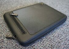 4 Pack Universal Tablet Case Sleeve Cover Zip up Microfiber Interior Black