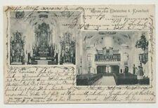 AK Gruss aus EIDELSTETTEN b. KRUMBACH Schwaben, gelaufen 1905 (44408)
