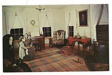 CREEPY Dummies Mannequin PARLOR OLD WADE HOUSE  Greenbush WISCONSIN Postcard WI