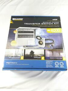 NEW!!!! Reliance Controls 310CRK 8000 Watt Complete Pre-Wired 10 Circuit Kit