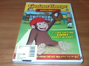 Curious George: Plays Ball (DVD, Widescreen 2011) NEW