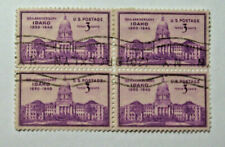 1940 Idaho 50th Anniversary 3 Cent  Block of four Stamp