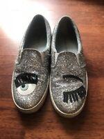 chiara ferragni Silber Damen Sneaker Gr 36