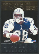 1995 Playoff Contenders Back to Back MICHAEL IRVIN & TIM BROWN Hall of Fame WRs
