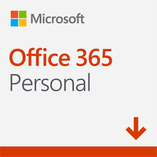Microsoft Office 365 Personal - Digital Delivery - PC/MAC - 1 Year Subscription
