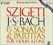 Bach: 6 Sonatas & Partitas for Violin
