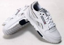 REEBOK CL TECH RUGGED II WHITE/BLACK UK6 EU39 LEATHER BNIB 1-180520
