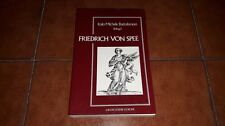 BATTAFARANO FRIEDRICH VON SPEE I ED. REVERDITO 1988 DEUTSCH GERMAN LANGUAGE