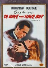 To Have And Have Not - UK Region 2 Compatible DVD Humphrey Bogart, Lauren Bacall