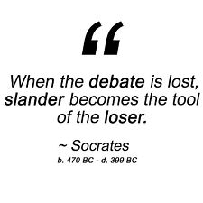 Anti Obama SOCRATES SLANDER TOOL OF THE LOSER Conservative Political Shirt