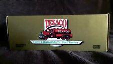Vintage TEXACO 1930 DIAMOND T FUEL TANKER BANK NEW NIB E1997 NIB 1990