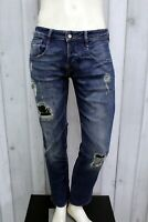 GUESS Jeans Uomo Taglia 30 / 44 Pantalone Regular Cotone Pants Men Man Slim