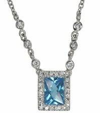 Topaz Fine Diamond Necklaces & Pendants