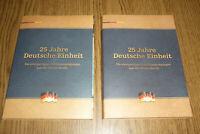 24 Medaillen 25 Jahre Deutsche Einheit Jubiläum PP in Dose und Mappe Teil 1+2 !