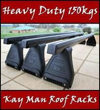 New Heavy Duty Roof Racks Suit Rain Gutters 150mm Landcruiser Prado Pajero Hiace
