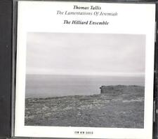 TALLIS - Lamentations Of Jeremiah / Mass 4 Voices - THE HILLIARD ENSEMBLE - ECM
