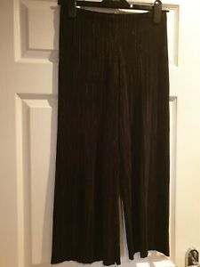 New Look Black Cullottes Size 8