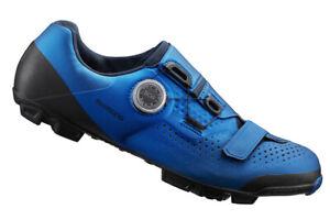 Shimano XC5 MTB XC Boa Mountain Bike Cycling Shoes Blue SH-XC501 46 (US 11.2)