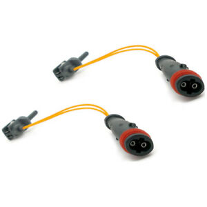 2x Brake Pad Wear Indicator Sensors Front Rear For Mercedes A B C E S Class