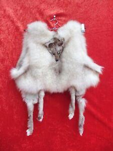 Sehr schöne Fuchsfell-Weste , Stola-Weste  , ganzes Fell , Silberfuchs ,Fuchs