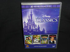 Disney Classics: 4-Movie Collection (DVD, 2012, 4-Disc Set)