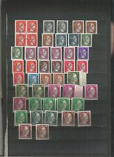 Yugoslavia, Slovenia, 1945, Maribor, provisional stamps, accumulation