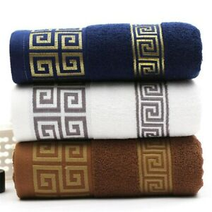 100% Cotton Embroidered Towel Sets Bamboo